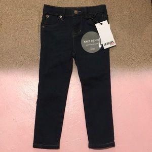 Hudson Kids Knit Denim Slim Jeans. 2T